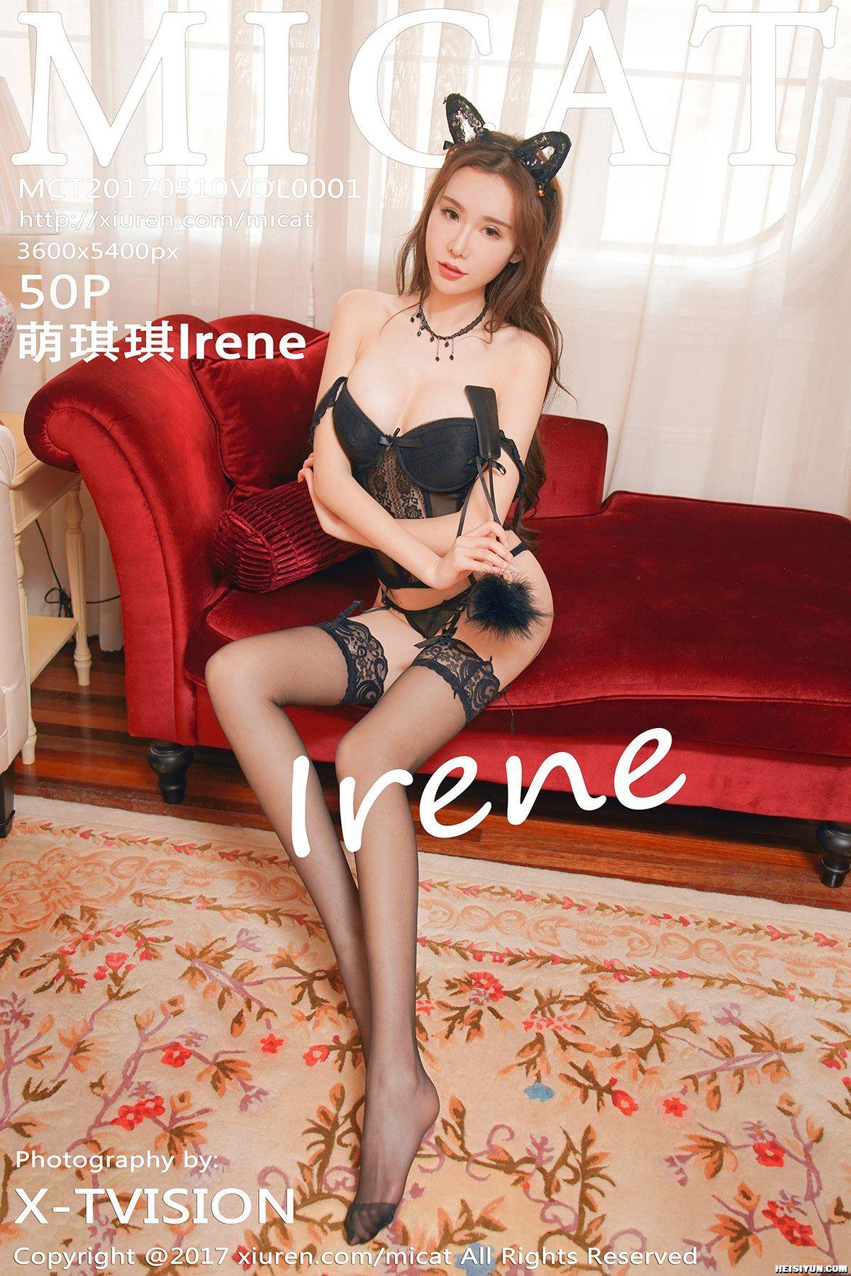 [MICAT猫萌榜] 2017.05.10 Vol.001 萌琪琪Irene [50+1P-157M]